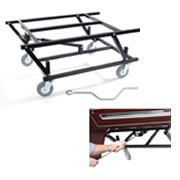 Wind Up Pool Table Trolley